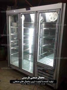 یخچال ایستاده سه درب سیستم نوفراست