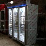 یخچال ایستاده 3 درب با طبقات متحرک